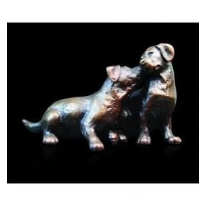 Bronze - Labrador Puppy Pair