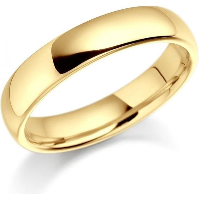 Brown & Newirth 18ct yellow gold 3mm medium court band