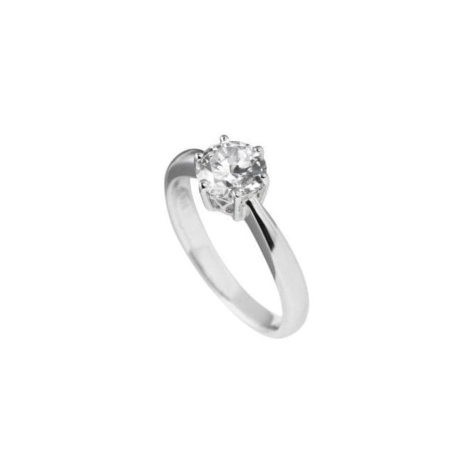 Diamonfire Solitaire CZ Ring