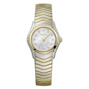 Ebel Lady's Wave bracelet watch