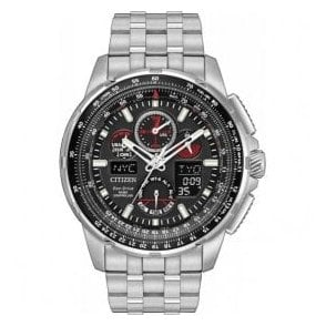 Eco-Drive Gents Skyhawk bracelet watch