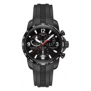 Gentleman's Big Size Chrono GMT strap watch