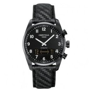 Gentleman's stainless black PVD DS Multi-8 watch