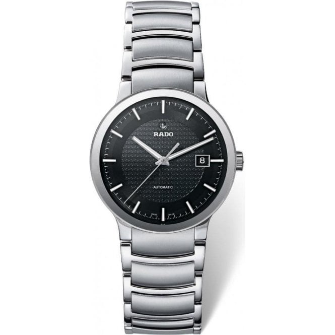 Rado Gentleman's stainless steel automatic Centrix bracelet watch