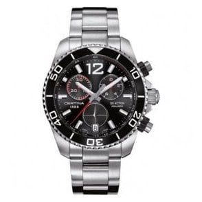Gentleman's stainless steel DS Action chronograph watch