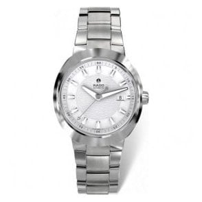Gentleman's steel and Ceramos D-Star automatic bracelet watch