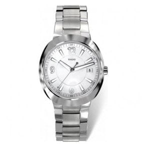 Gentleman's steel & Ceramos D-Star bracelet watch