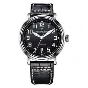 Gents 1924 Series Black Dial Automatic Watch