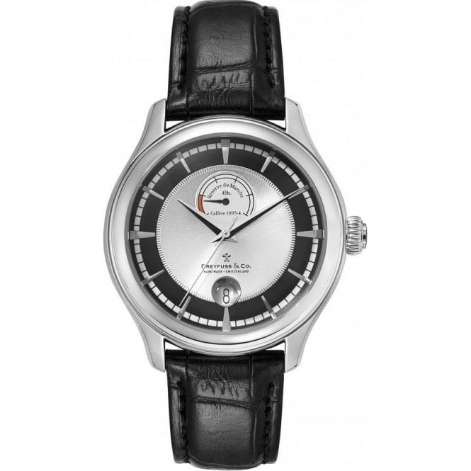 Dreyfuss & Co Gents 1925 Series Power Reserve Automatic Watch