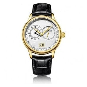 Gents 1946 Series Yellow PVD Dual Time Zone Quartz Watch
