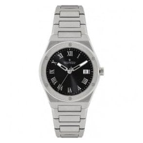Gents 1953 Series Black Roman Dial Bracelet Quartz Watch