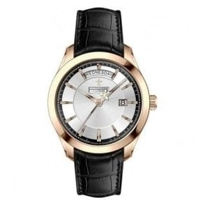 Gents 1953 Series Day-Date Rose PVD Quartz Watch