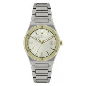 Gents 1953 Series Two Tone Champagne Dial Bracelet Quartz Watch