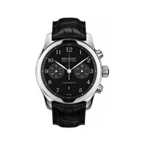 Gents ALT1-C Black Dial Black Strap Automatic Chronograph Watch