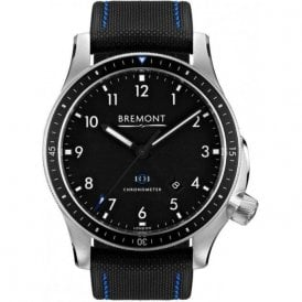 Gents Boeing Model 1 Black Dial Black Strap Automatic Watch