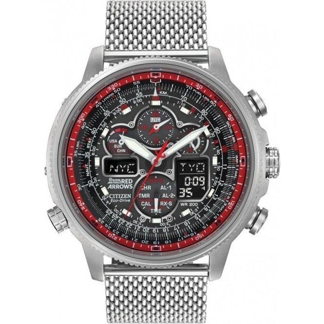 Citizen Gents Citizen Navihawk Red Arrows Limited Edition Watch
