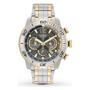 Gents Citizen Primo Stingray Chronograph Two-Tone Watch