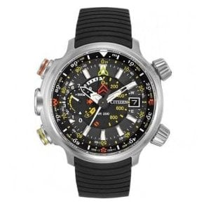 Gents Citizen Promaster Altichron Eco Drive Rubber Strap Watch
