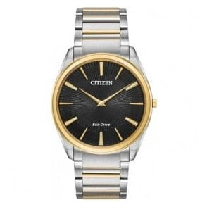 Gents Citizen Stiletto Two Tone Bracelet Watch
