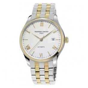 Gents Classics Index Two Tone Bracelet Automatic Watch