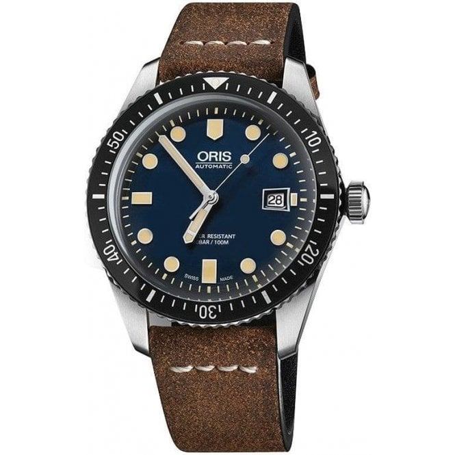 Oris Gents Divers Sixty-Five Automatic Blue Dial Automatic Watch
