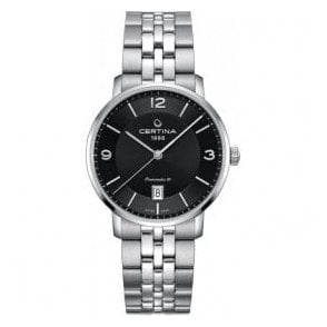 Gents DS Caimano Powermatic 80 Black Dial Automatic Watch