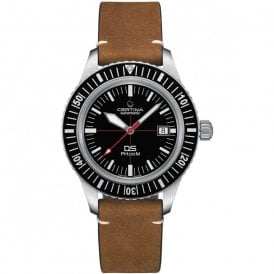 1c55c851f Gents DS PH200M Black Dial Brown Leather Strap Automatic Watch