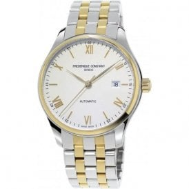 Gents Frederique Constant Index Two Tone Automatic Watch