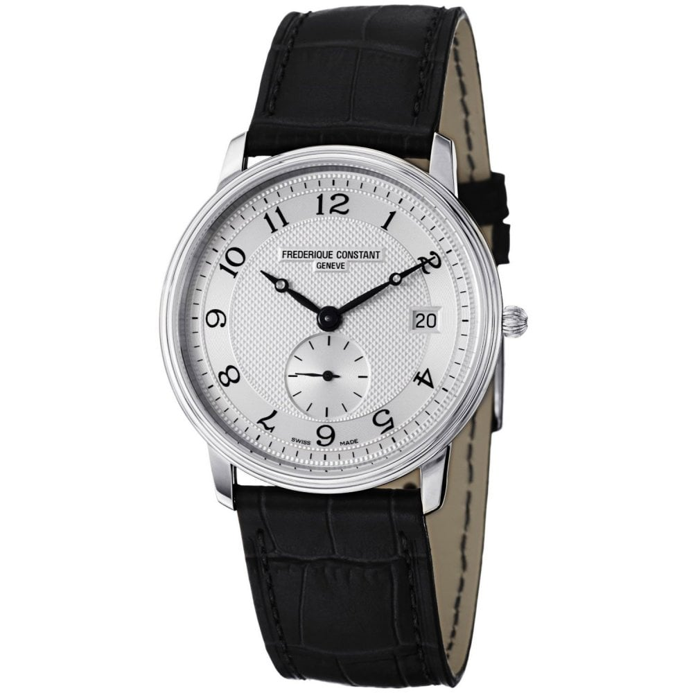 Second Hand Watches >> Frederique Constant Gents Frederique Constant Slimline Drop Second Hand Watch