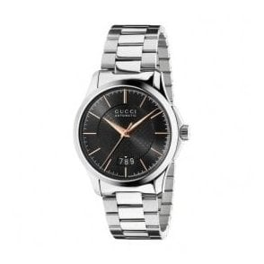 Gents Gucci G-Timeless Black Dial Automatic Bracelet Watch
