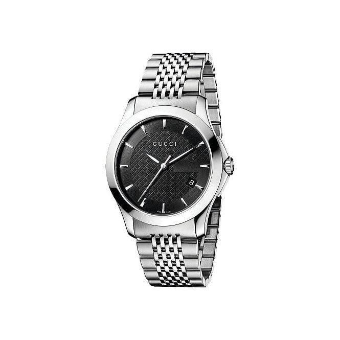 Gucci Gents Gucci G-Timeless Black Dial Bracelet Watch
