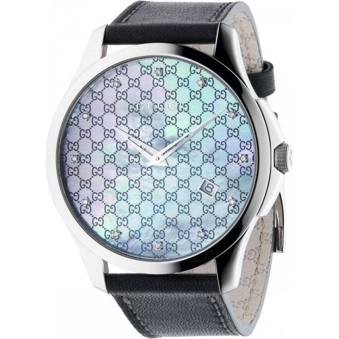 Gucci Gents Gucci G-Timeless MOP Diamond Set Dial Watch