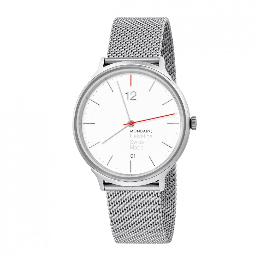 Gents Helvetica Light Spiekermann Edition Quartz Watch