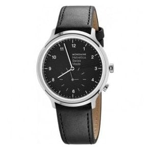 Gents Helvetica No1 Regular 2nd Time Zone Quartz Watch