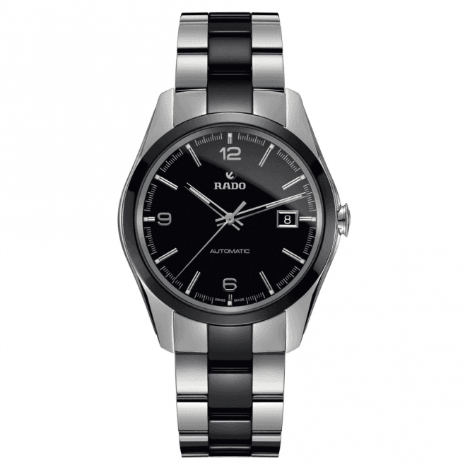 Rado Gents HyperChrome Black Dial Automatic Watch