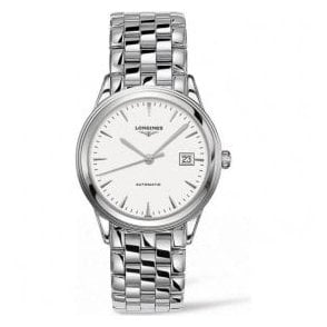 Gents Longines Flagship Automatic White Dial Bracelet Watch