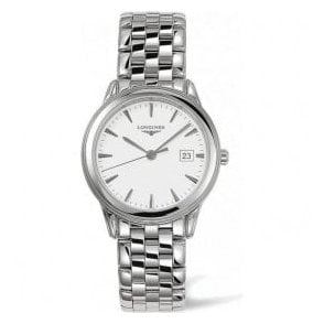 Gents Longines Flagship Silver Dial Bracelet Watch
