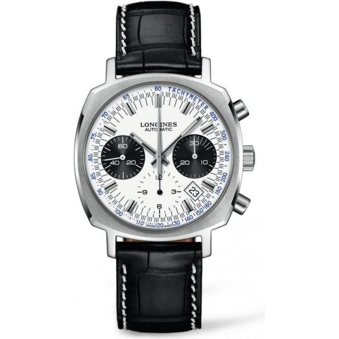 Longines Gents Longines Heritage 1973 Automatic Chronograph Watch