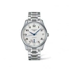 Gents Longines Master Collection Automatic Silver Dial Watch