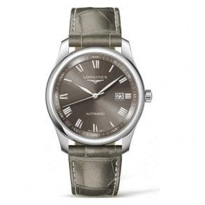 Gents Longines Master Collection Grey Dial Automatic Watch
