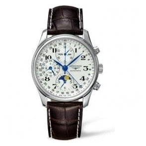 Gents Longines Master Collection Moonphase Chronograph Watch