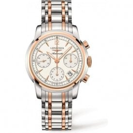 Gents Longines Saint-Imier Automatic Chronograph Two Tone Watch