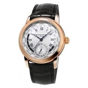 Gents Manufacture WorldTimer Rose PVD Automatic Watch