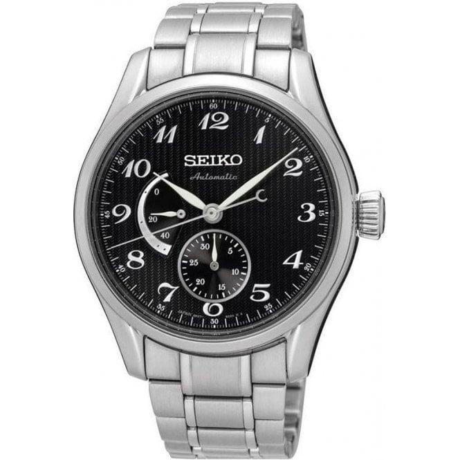 Seiko Gents Seiko Presage Automatic Power Reserve Bracelet Watch