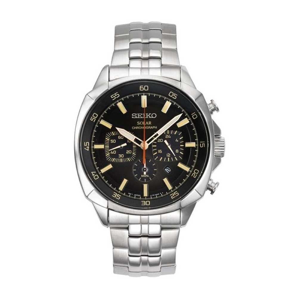 470f0c19e Seiko Seiko GentsSolar Chronograph Bracelet Watch - Watches from ...