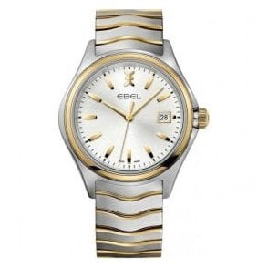 Gents Two-Tone Ebel Wave Watch