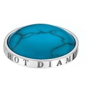Hot Diamonds Emozioni Turquoise Coin