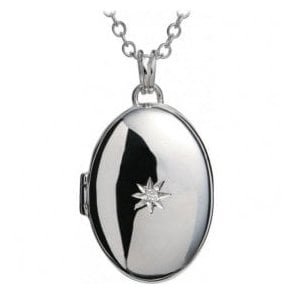 Inheritance Silver Locket Pendant and chain