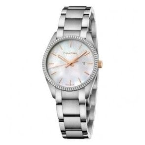 Ladies Alliance MOP Dial Bracelet Quartz Watch
