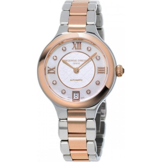 Frederique Constant Ladies Classics Delight Two Tone Bracelet Automatic Watch